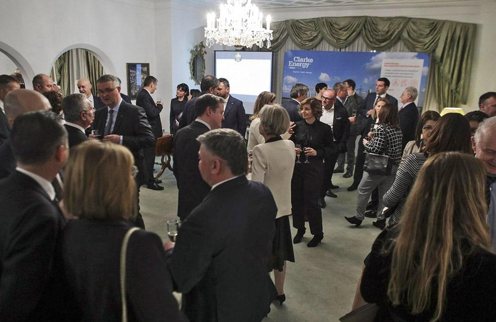 Lansarea companiei Clarke Energy pe piața din România