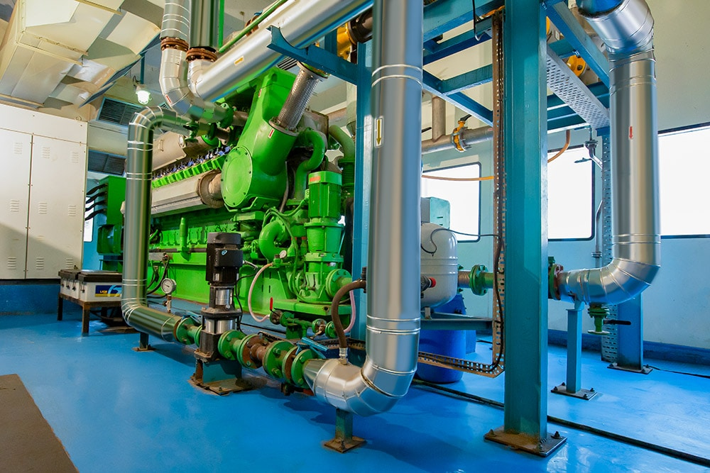 Biogas-fuelled Trigeneration Plant Installed at Pharmaceutical Manufacturer Embio