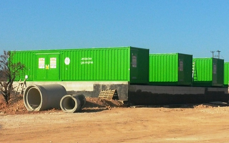 6MW Biogas Plant Installed at Selected Biogas Farsala, Greece