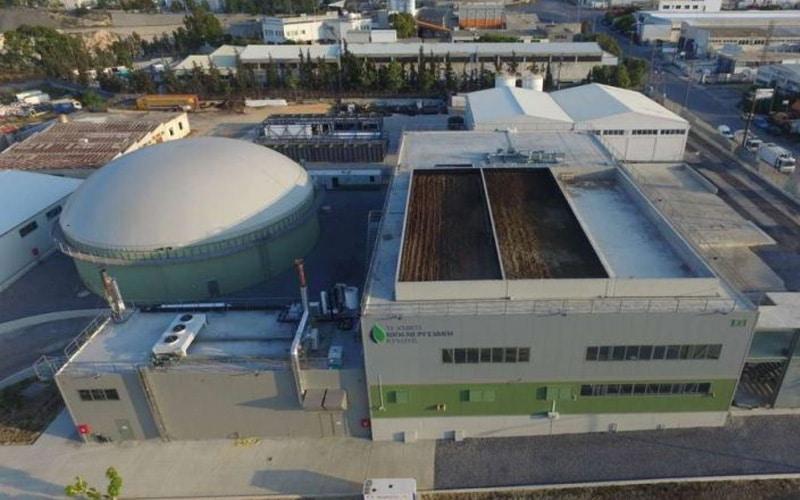 Techniki Bioenergiaki Kritis Biogas Plant