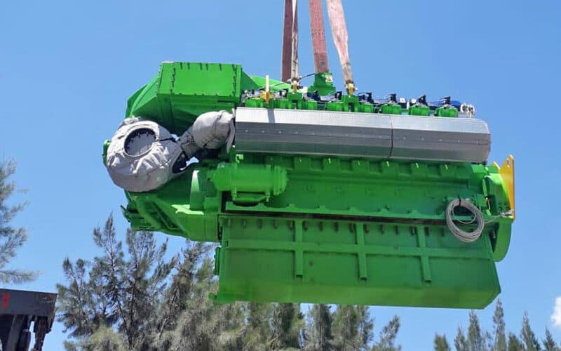 In engleza: Major 60,000 Hour Engine Overhaul Completed at Nejma Huile, Tunisia