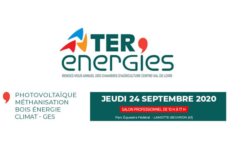 Clarke Energy expose à Ter'Energies | 24 septembre 2020 | Lamotte-Beuvron (41)