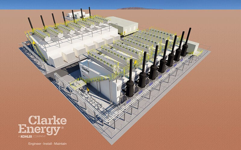 En anglais: Clarke Energy chosen by Alinta Energy to expand their Newman Power Station
