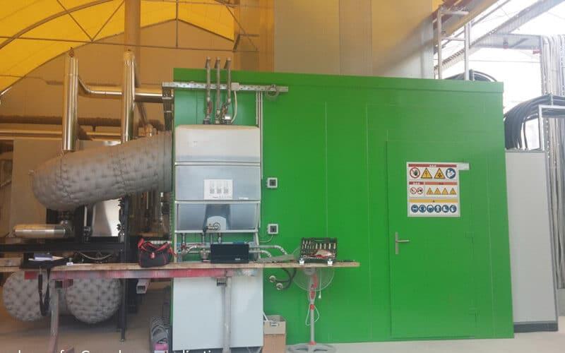En anglais: Greenhouse Savvidis CHP Plant, Greece