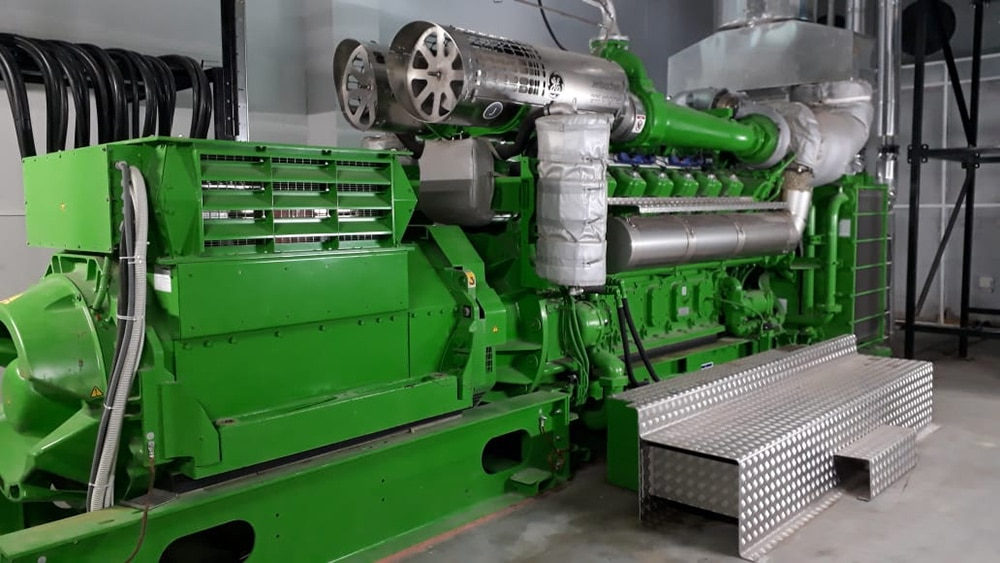 Second Jenbacher J612 engine installed at Vitalait
