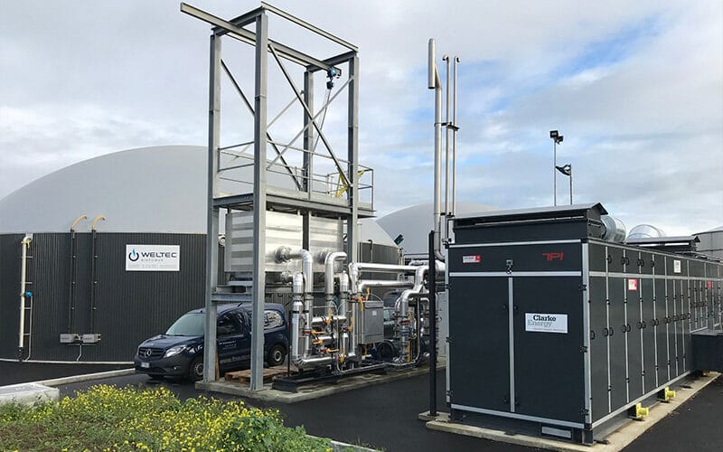 Στα αγγλικά: SAS Agrigaz Agricultural Biogas Upgrading Plant, France