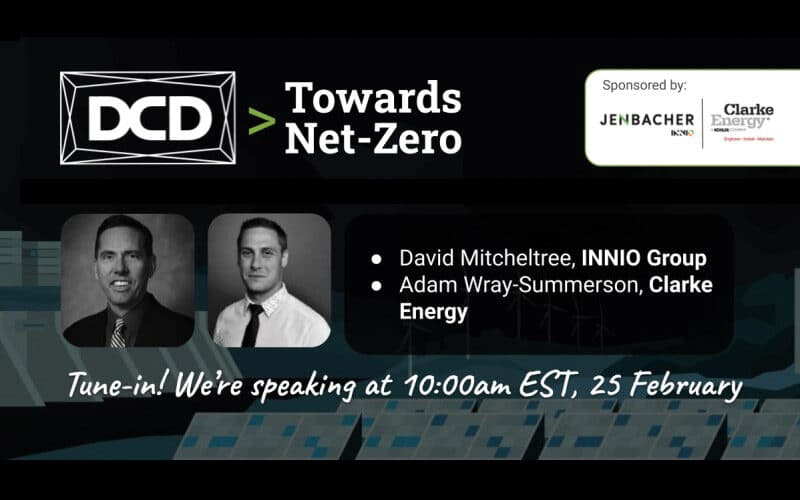 Webinar | DCD – Towards Net Zero | February 25th 2021