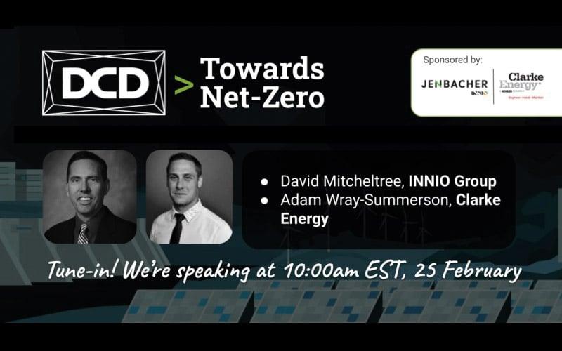 Webinar | DCD – Towards Net Zero | February 25th 2021