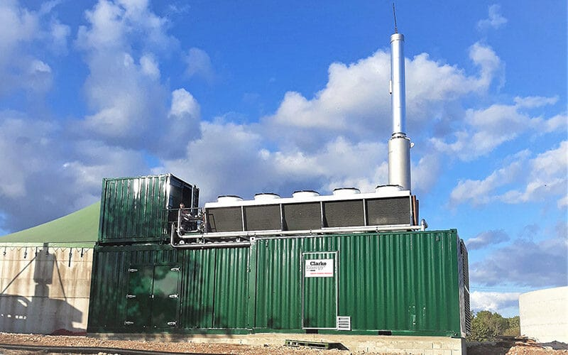 SAS CMV Biogas Combined Heat and Power Plant, France