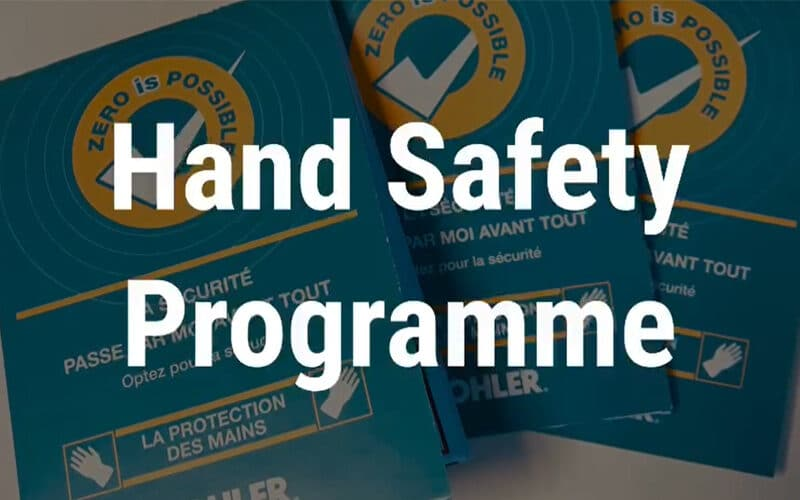 Clarke Energy et KOHLER lancent le « HAND SAFETY PROGRAM »