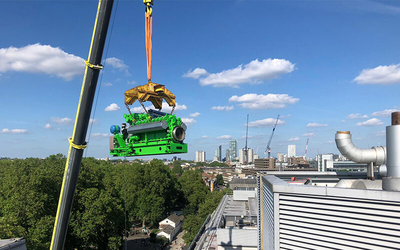 In engleza: Major Scheduled Engine Overhaul Completed at Great Ormond Street Hospital, London