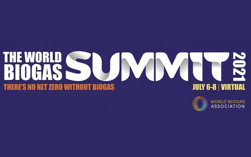 The World Biogas Summit 2021 (Virtual) | July 6th to 8th