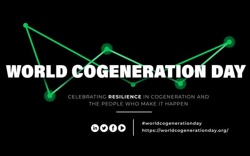 Clarke Energy Supporting World Cogeneration Day 2021 – Celebrating The Resiliency of Cogeneration and it's People