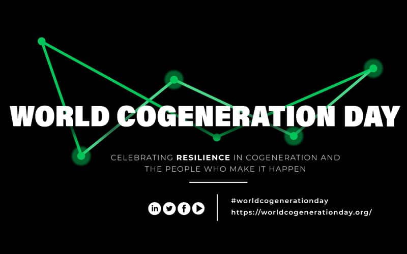 In engleza: Clarke Energy Supporting World Cogeneration Day 2021 – Celebrating The Resiliency of Cogeneration and it's People