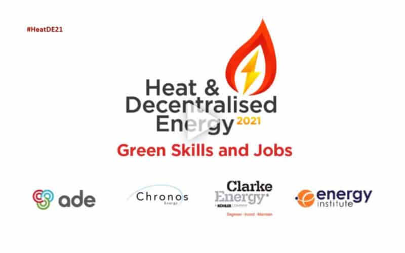 Webinar | Gas CHP in the transition: Its role in supporting jobs and growth | Heat & Decentralised Energy 2021
