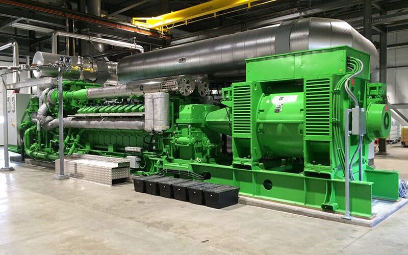 Coldwater Board of Public Utilities Cogeneration Plant for Greenhouse Facility, Michigan USA