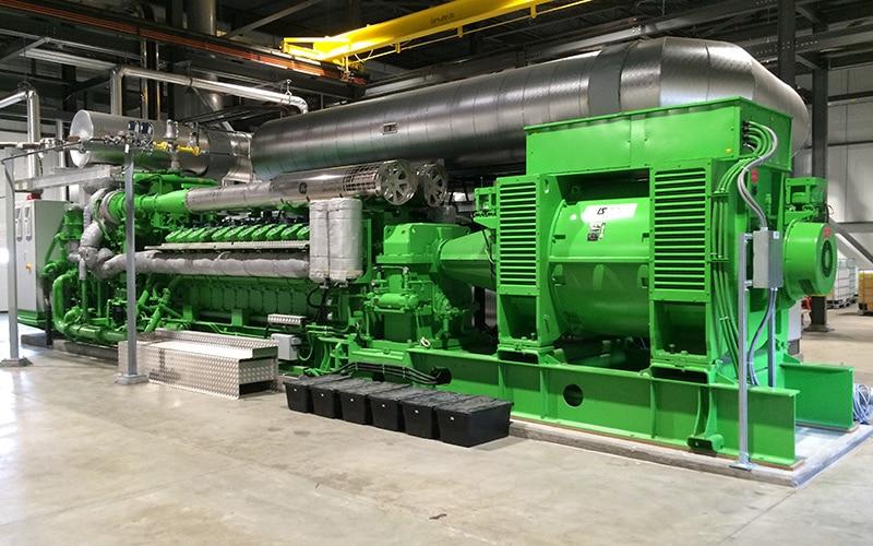 In engleza: Coldwater Board of Public Utilities Cogeneration Plant for Greenhouse Facility, Michigan USA