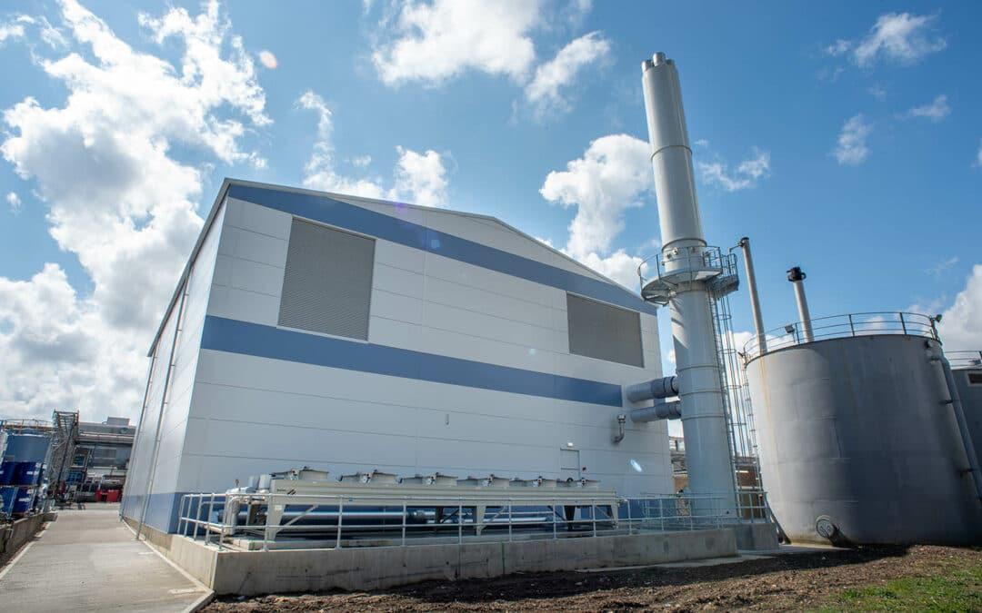 Στα αγγλικά: Clarke Energy Deliver Full Turnkey Hydrogen Ready CHP Plant to Sterling Pharma Solutions