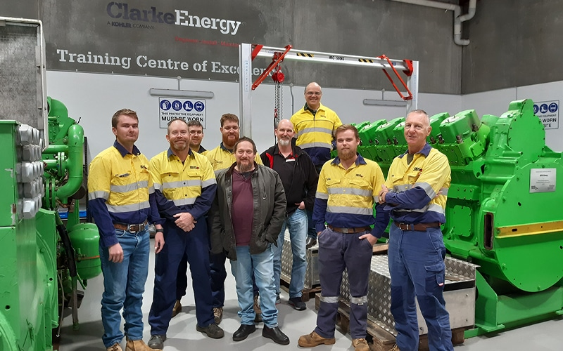 In engleza: Knowledge is Power with Clarke Energy's Technical Training