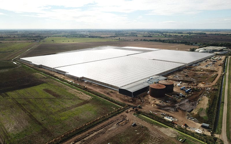AGR 217,000m² Glasshouse and Energy Centre with 33MWth Heat Pump System and 9MW Combined Heat and Power Plant