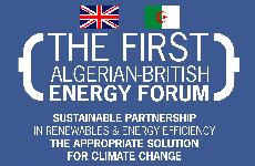 The First Algerian – British Energy Forum