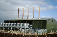Calvert Landfill Power Plant, Shanks Waste