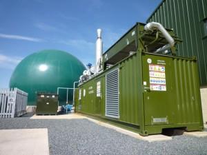 Harper Adams College CHP Engine by Clarke Energy