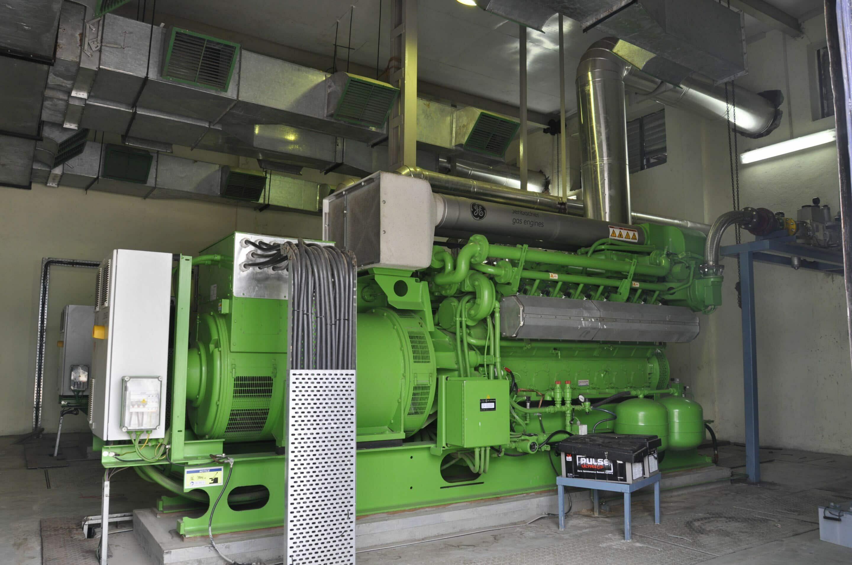 Jenbacher J316 biogas engine at Jain Irrigation in India