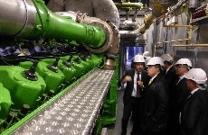 Tunisian Minister for Industry visits St Thomas' Hospital CHP plant
