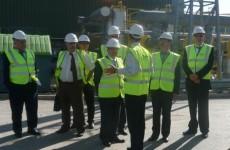 Sonelgaz CEO, Visits Calvert Landfill Gas Power Plant