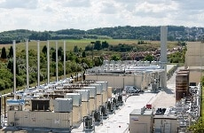 Plessis Gassot's landfill gas power plant