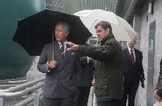 Prince Charles Visits Biogen Gwyriad