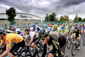 Tour of Britain passes Clarke Energy