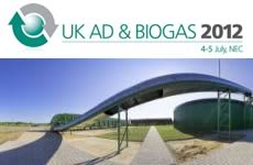 UK AD & Biogas 2012, ADBA third annual trade show and conference, 2012