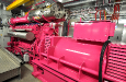 King's Cross Pink Engine installed by Clarke Energy , http://www.clarke-energy.com