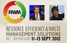 Resource & Waste Management (RWM) Exhibition, 11-13 September 2012, Birmingham NEC.